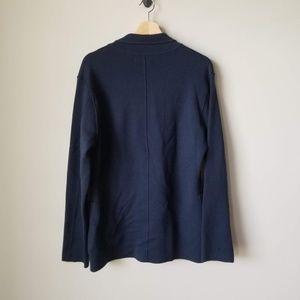 Everlane Sweaters - Everlane Men's Blue Cardigan Sweater Pockets Sz M